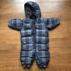 Baby Gap 6-12 month winter one piece suit